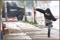 Immagini dalla Colombia