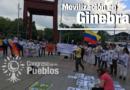 ORGANIZACIONES SUIZAS Y POBLACIÓN COLOMBIANA EN EL EXTERIOR SE MOVILIZAN