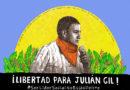 """Libertad para Julián Gil"", por Reyes"