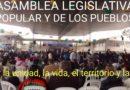 Finaliza la Asamblea legislativa popular de los pueblos.