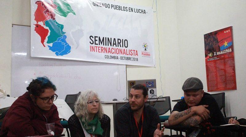 Finalizó Seminario Internacionalista realizado en Bogotá