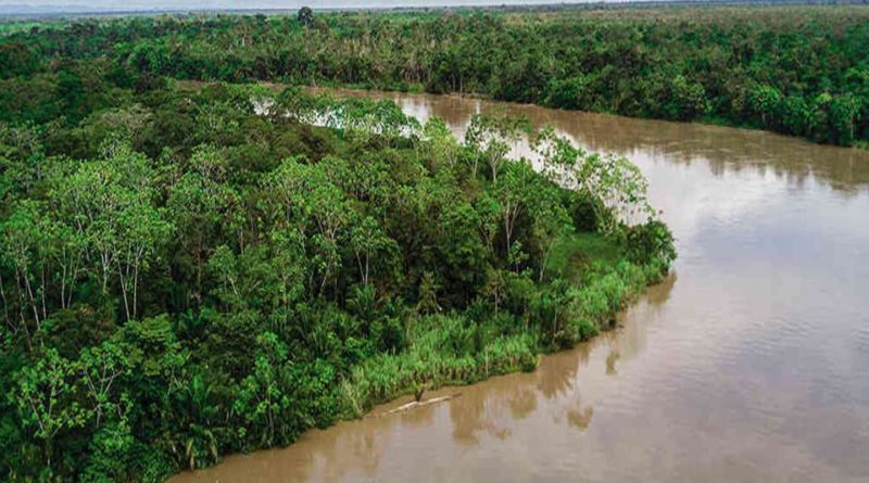 Caravana por la Vida, el Territorio y la Dignidad de los pueblos del Bajo Atrato, Chocó, Colombia.