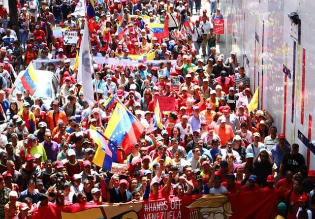 """""""El imperialismo no entiende la resistencia del pueblo venezolano"""""""
