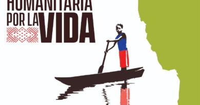 CARAVANA HUMANITARIA POR LA VIDA . BAJO ATRATO, CHOCÓ, COLOMBIA.