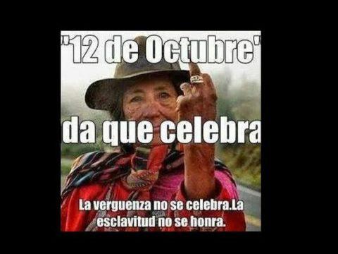 12 de octubre día de lucha y de resistencia de las Américas