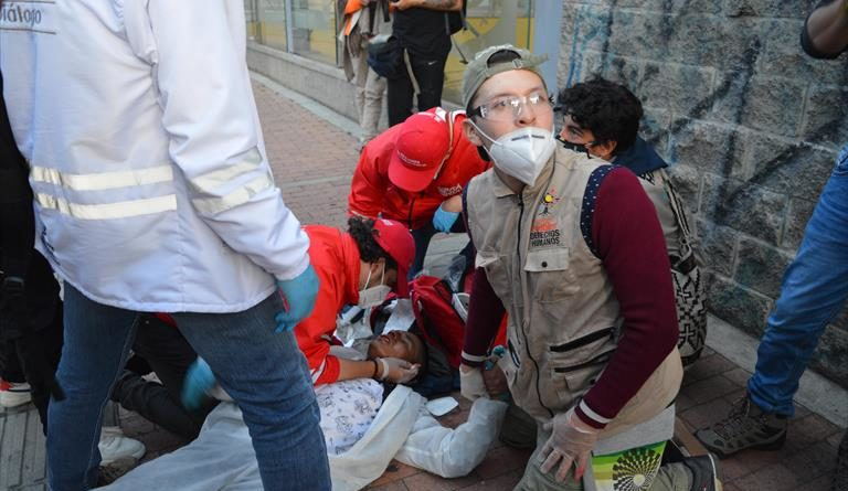 Despliegue militar en plena pandemia