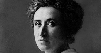"""""""La espontaneidad y organización hacen la Revolución"""", Rosa Luxemburgo"""