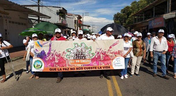 Falso positivo judicial contra líder social en el Centro Oriente de Colombia