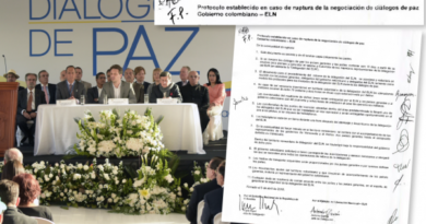 Este es el protocolo que firmaron Colombia, Eln y los países garantes en caso de la ruptura de los diálogos