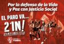 GOBIERNO COLOMBIANO CRIMINALIZA Y REPRIME A LOS PROCESOS SOCIALES, ENTRE ELLOS AL CONGRESO DE LOS PUEBLOS, PREVIO AL GRAN PARO NACIONAL DEL 21N